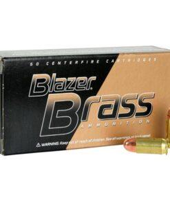 .40 S&W Ammo by Blazer Brass - 180gr FMJ