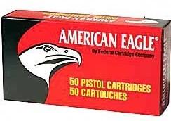 45 ACP Ammo by Federal American Eagle - 230gr FMJ