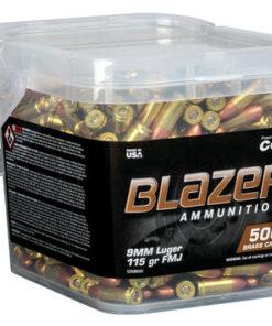 Blazer 9mm Luger Ammo handgun