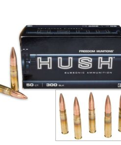 HUSH - 300 BLACKOUT 220 GR HPBT MATCH NEW