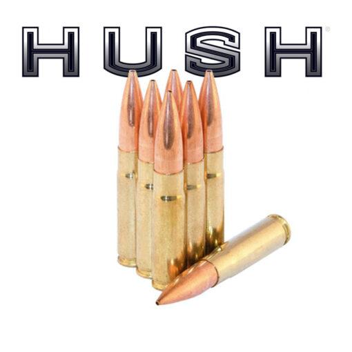 HUSH - 300 BLACKOUT 220 GR HPBT MATCH NEW
