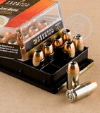 45 ACP Ammo by Federal - 165gr Hydra-Shok JHP - Low Recoil
